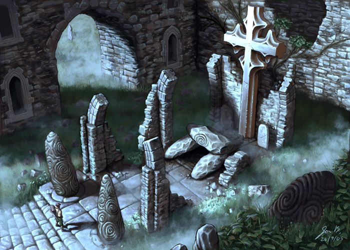 Art: Celtic Ruins