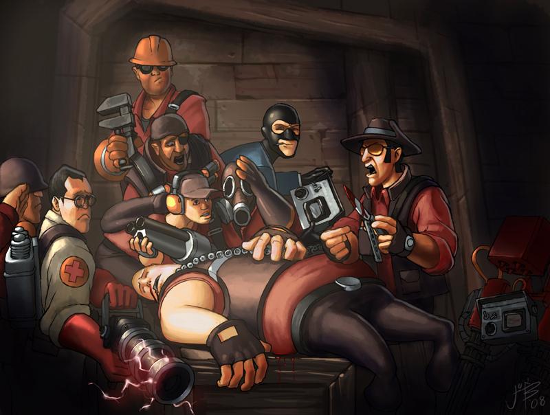 Team Fortress 2 Fan Art Spy Round Ere